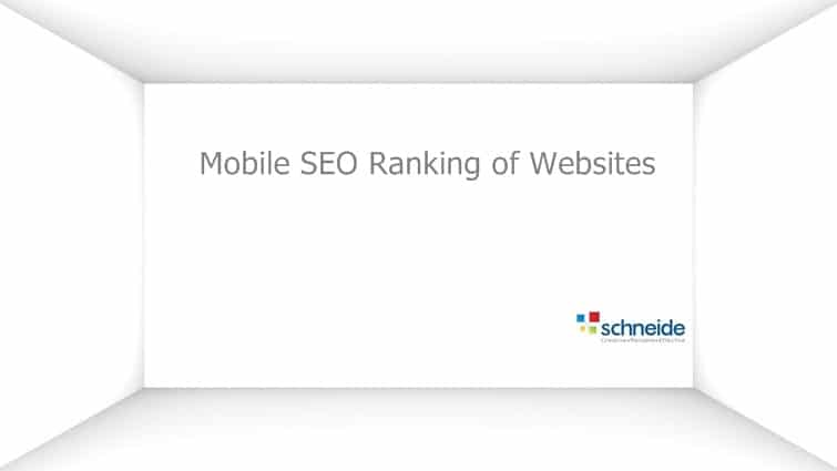 What to do for increasing mobile Ranking of your Website on Google