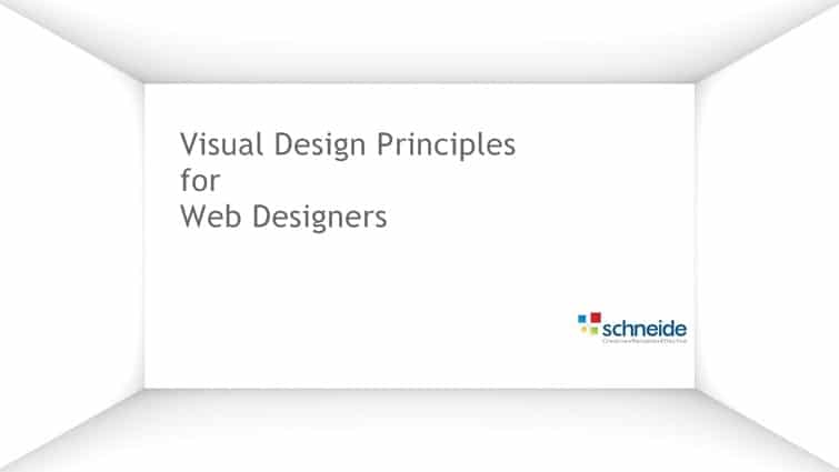 Visual Design Principles for Web Designers